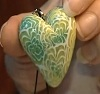 Сердечко из полимерной глины