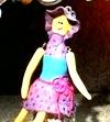 Видео мастер класс №3.Кукла в технике миллефиори 25.32 мин