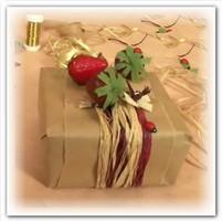 Декорирование подарка