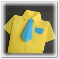 Открытка для мужчины рубашка