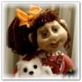 кукла из чулок Дашенька