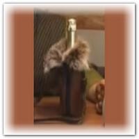 Праздничная упаковка для шампанского