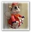 2Ф.Видео мастер класс.Кукла из чулок «Цветочный Фей» 09.07 мин.