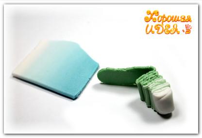 полимерная глина серьги мастер класс