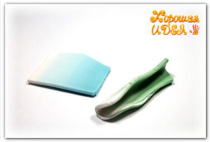 полимерная глина серьги своими руками