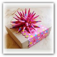 Украшение подарка своими руками