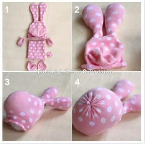 Как из носка сделать зайца