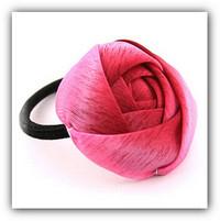 как сшить розу из ткани.