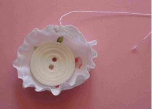 Как сделать резинку из пуговиц