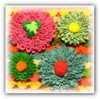 Цветы из тесьмы