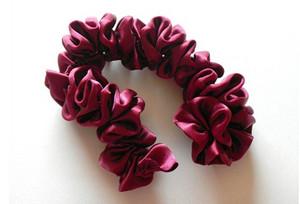 цветы из атласных лент мастер класс