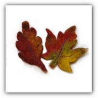 Мастер класс.Осенние листья своими руками.