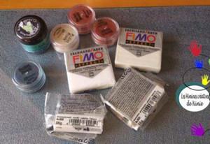 кулоны из пластики