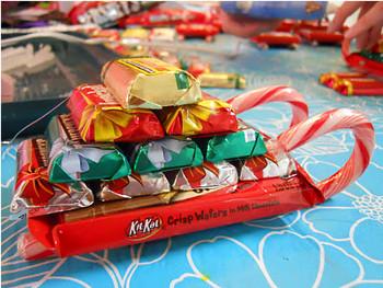 Шоколад на новый год своими руками