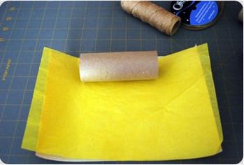 новогодняя поделка из рулонов от туалетной бумаги