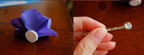 как сделать цветок