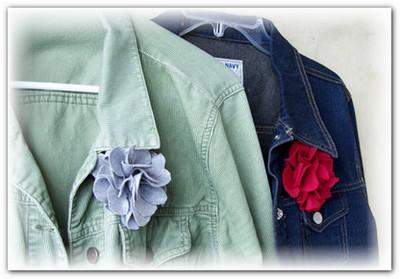 как сделать цветок из ткани
