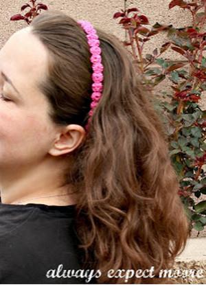ободок для волос своими руками