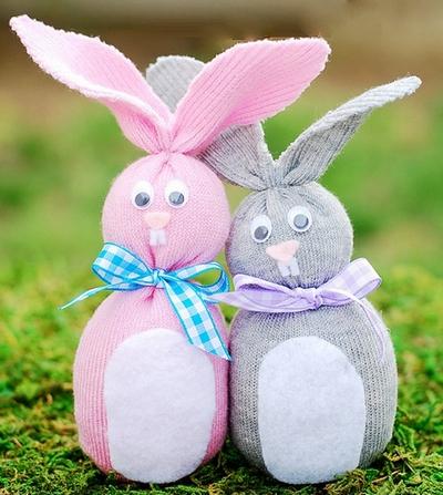 Кролик своими руками на пасху