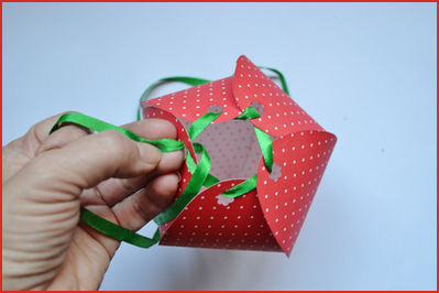 подарочная упаковка из бумаги
