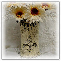 Декорирование ваз своими руками