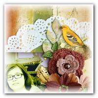 Скрапбукинг альбом Идеи декорирования салфетками
