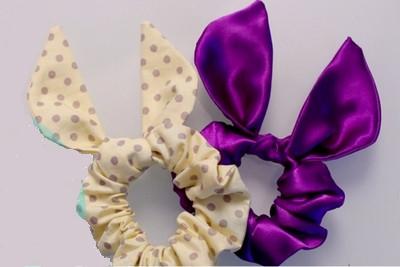 Резинка для волос своими руками из ткани