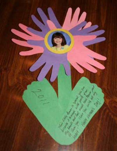Поделки к дню матери своими руками цветы