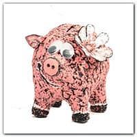 Свинка из папье маше Мастер класс