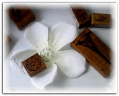 оригинальные цветы из шёлка