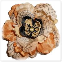 Оригинальные цветы из шёлка мастер класс
