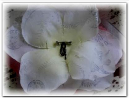 цветы из шёлка