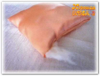 подушка для колец своими руками