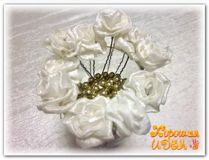 Шпмильки с цветами