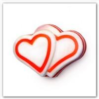 Многослойное мыло сердце в подарок