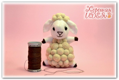 овечка своими руками