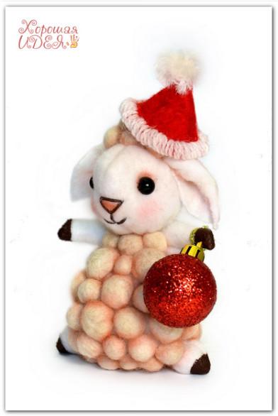 символ 2015 овечка
