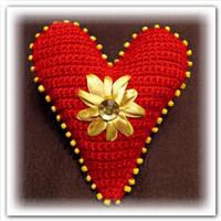 Мастер класс Вязаное сердечко