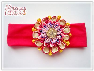 цветок канзаши мастер класс