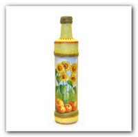 Декупаж бутылки для масла